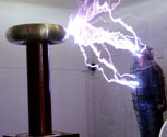 Sarcophagus Faraday Cage high voltage special effect<